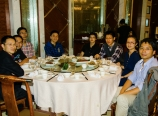 Dinner with orthopaedics department