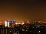 Hangzhou city at night