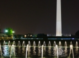 Washington Monument with WWII Memorial
