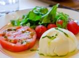 Caprese salad at Bond 45
