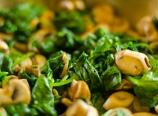 Mushroom spinach