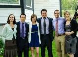 With Krysten, Sarah, Ben, Corey, and Juliana