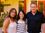 With Shari and Chris
