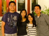 With Chris, Aimee, and Richard