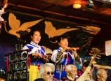 Naxi traditional orchestra singers
