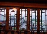 Zen Garden Lion Hill Hotel windows