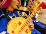 Yi tribe musicians