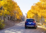 Parked along Boreas Pass Road