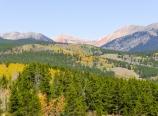 View north from Kenosha Pass