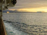 In the Strait of Juan de Fuca