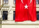 Turkish flag at the Hippodrome