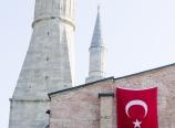 Side entrance to the Hagia Sophia
