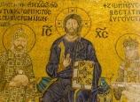 Christ with Constantine IX Monomachus and Empress Zoe