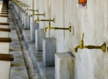 Ablution faucets