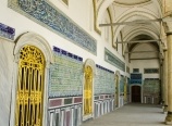 Side wall of the Harem complex