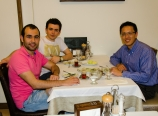 With Talha and Ibrahim