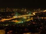 Bosphorus Bridge view from LJamlıca