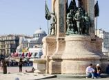 Republic Monument in Taksim Square