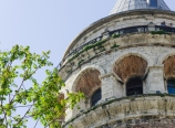 The top floor of Galata Tower