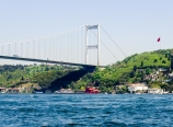 Bosphorus Bridge to Asian Istanbul