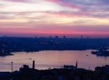 The Golden Horn after sunset