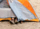 Jeong Mi's tent