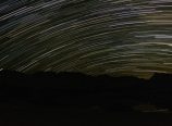 Southern sky star trails from Pioneer Basin