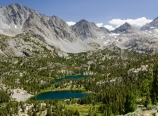 Heart Lake in Little Lakes Valley