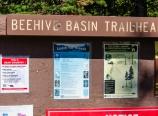 Beehive Basin trailhead