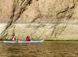 Jackson and Whitney paddling
