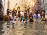 Arizona Hot Springs soak