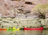 Tied paddlecraft