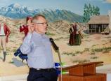 Jim giving the Neufeld Society presentation