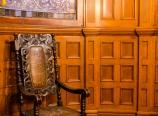 Furniture and oak panels