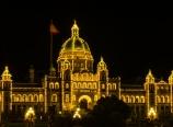 The Legislature Building at night
