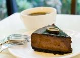 Chocolate mocha cheesecake at Bakery Noveau