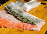 Skinning the salmon