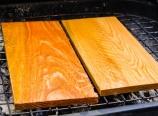Heating the cedar