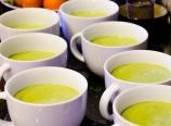 Vanilla avocado kale smoothie