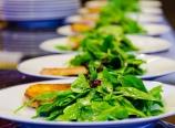 Christmas spinach salad
