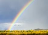Teton National Park rainbow