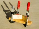 Corner drilling jig