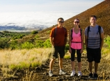Starting the climb up Mauna Kea