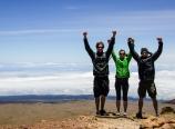 Standing atop Pu'u Wekiu, Mauna Kea summit