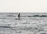 Paddleboarding in Kahalu'u Bay