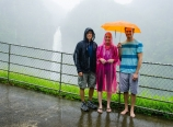 Heavy rain at Akaka Falls