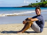 Rob on Hapuna Beach