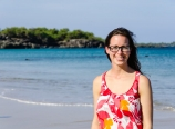 Krysten at Hapuna Beach