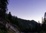 Moon over Buck Creek