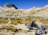 Campsite at Nine Lake Basin